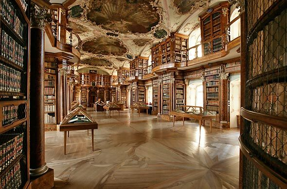 Abbey Library St Gall, Historic museum